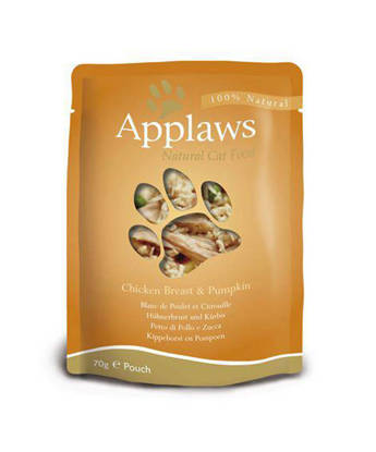 Picture of Applaws Cat Pouch Chicken 12 x 70g