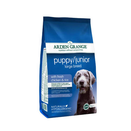 Picture of Arden Grange Puppy/Junior Large Breed 2kg
