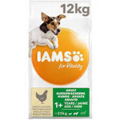 Picture of Iams Vitality Dog Small / Medium Chicken 12kg