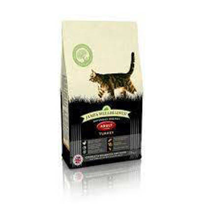 Picture of James Wellbeloved Adult Cat Turkey and Rice 10kg